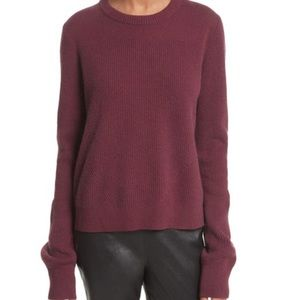 RAG & BONE Ace 100% Cashmere Ribbed Sweater